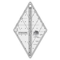 Creative Grids 60 Degree MINI Diamond Ruler - CGR60DIAMINI