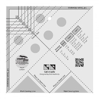 Creative Grids Cat's Cradle Tool Quilt Ruler - CGRDH1