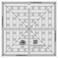 Creative Grids 8-1/2in Square It Up or Fussy Cut Square Quilt Ruler - CGRSQ8