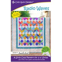 Radio Waves Quilt Pattern