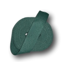 Cotton Belting 1 1/4in Wide -Medium Green