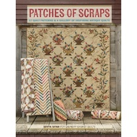 Patches of Scraps Book by Edyta Sitar - 17 patterns *NEW*