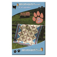 Cat'agonia Quilt Pattern - Deb's Cats and Quilts