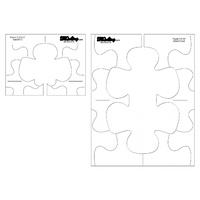 Low Shank PUZZLE Template - DM QUILTING
