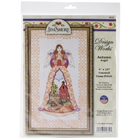 DW Autumn Angel Cross Stitchery Kit