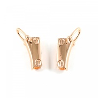 Strap Clip with D-Ring 2 Pack Copper