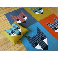 Fancy Fox II Quilt & Pillow Pattern by Elizabeth Hartman