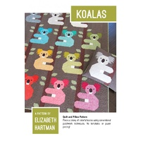 Koala Quilt and Pillow Pattern by Elizabeth Hartman