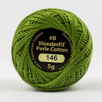 Eleganza 8wt Solid Perle Cotton Ball- SUSHI