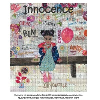 Laura Heine INNOCENCE Collage Pattern