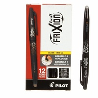 Frixion Pen Blue Fine Point - .07 Heat erasable - Single Pen