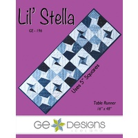 Gudrun Erla - Lil Stella Table Runner Pattern