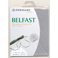 Belfast Linen Medium Grey -32 ct