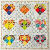 Heartland Wall Hanging Quilt Pattern by Sue Daley