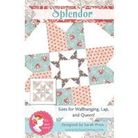 Splendor Quilt Pattern - It's Sew Emma