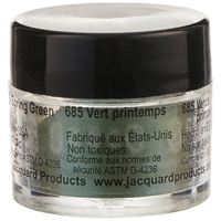 Jacquard Pearl Ex Powdered Pigment-Spring Green- 685 3gm