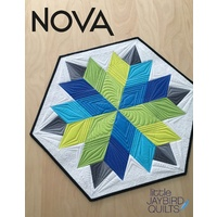 Jaybird Quilts Nova Table Topper Pattern