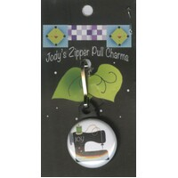 Jody Houghton - Zipper Pull Charm - Sewing Machine