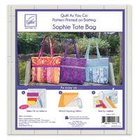 Quilt as You Go Tote - Sophie Design