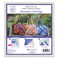 Quilt as You Go Tote - Alexandra Design