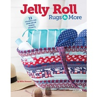 Jelly Roll Rugs and More Book - Billie Steward