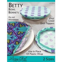 Betty Bowl Bonnets Pattern