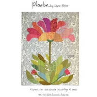 Laura Heine Phoebe Applique Flower Collage Pattern