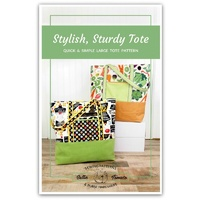 Sallie Tomato Stylish Sturdy Tote Pattern