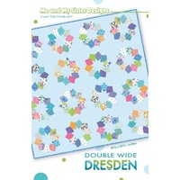 Double Wide Dresden Quilt Pattern - Me and My Sister Designs