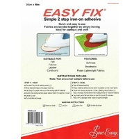 Easy Fix Iron On Adhesive 30cm wide  -