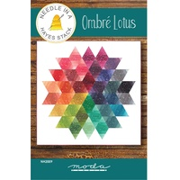 Ombre Lotus Quilt Pattern
