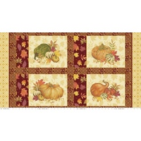Autumn Hues Panel - RED