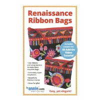 Renaissance Ribbons Bag Pattern by Annie.com
