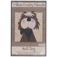 Mutt Dog Applique Pieces