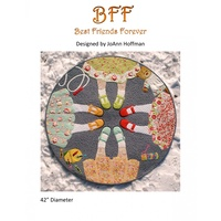 BFF Best Friends Forever Wall Hanging/ Table Topper Pattern