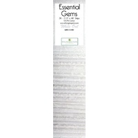"Essential Gems-White Out Jelly Roll- 2.5"" - 24pc"
