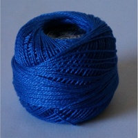 Rose Blue Pearl Cotton #8 10gm/95yds