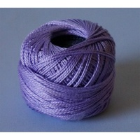Rose Lavender Pearl Cotton #8 10gm/95yds