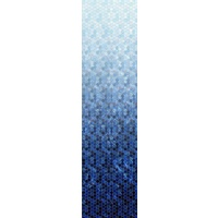 Honeycomb Ombre Digital - BLUE