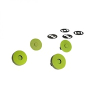 Magnetic Snaps - LIME - 3/4 in wide
