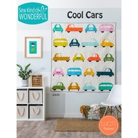 Cool Cars Quilt Pattern by Sew Kind of Wonderful