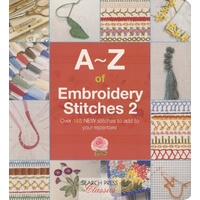 A-Z of Embroidery Stitches Book