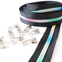 Black Rainbow Zipper by Sew Quirky