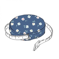 Vintage Happy 2 Tape Measure Style 1- Lori Holt
