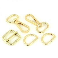 Sallie Tomato -Basic Hardware Set 3/4in Gold