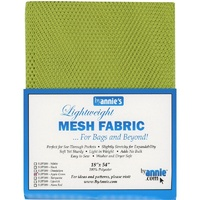 Mesh Fabric-Apple Green