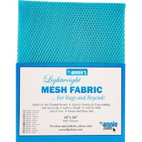 Mesh Fabric-PARROT BLUE