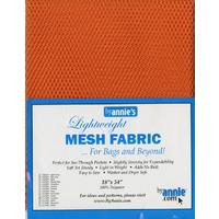 Mesh Fabric-PUMPKIN