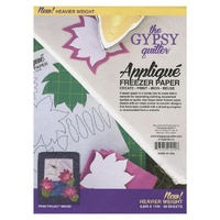 Gypsy Quilter Freezer Paper 8 1/2in x 11in Heavy Weight 50 Pieces