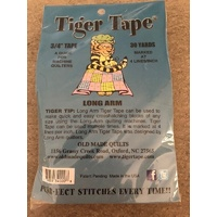 Tiger Tape - Tape for Long Arm Machine Quilters 4 Lines Inch